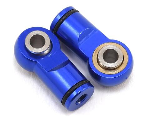 Hot Racing Traxxas Revo Ball Type Aluminum Shock Ends (Blue)