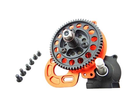 Hot Racing HT 61T Steel Extended Out Drive Tran AX10