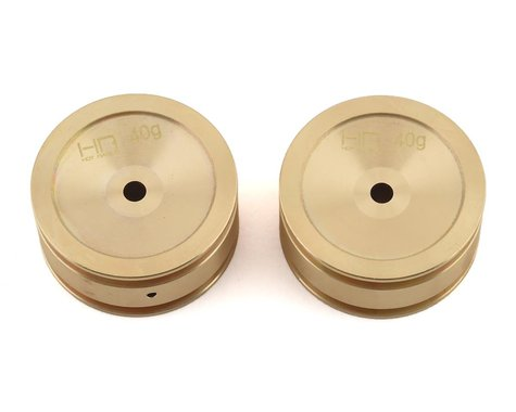 Hot Racing Axial SCX24 Brass Wheel (2)