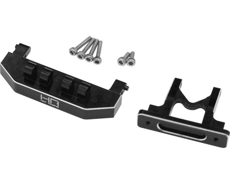 Hot Racing Axial SCX24 Aluminum Rear Body Mount Support (Black)