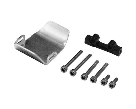 Hot Racing Axial SCX24 Stainless Steel Front/Rear Skid Plate