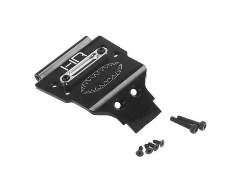 Hot Racing Aluminum Front Skid Plate w/Winch Fairlead