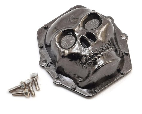 Hot Racing AR60 Axle Diff Cover (Black Chrome)