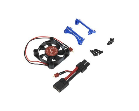Hot Racing 50mm X-Maxx Monster Blower Fan Kit (Blue)