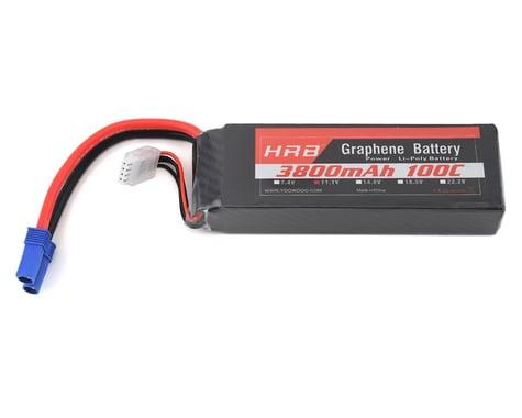 HRB 3S 100C Graphene LiPo Battery (11.1V/3800mAh) w/EC5 Connector