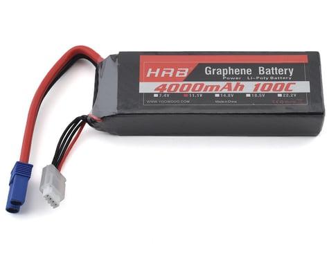HRB 3S 100C Graphene LiPo Battery (11.1V/4000mAh) w/EC5 Connector