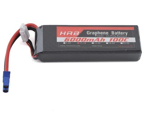 HRB 3S 100C Graphene LiPo Battery (11.1V/6000mAh) w/EC5 Connector