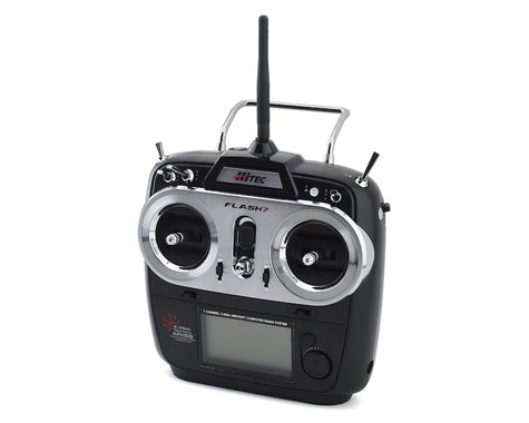 Hitec Flash 7 2.4GHZ 7-Channel Aircraft Radio System (Transmitter Only)