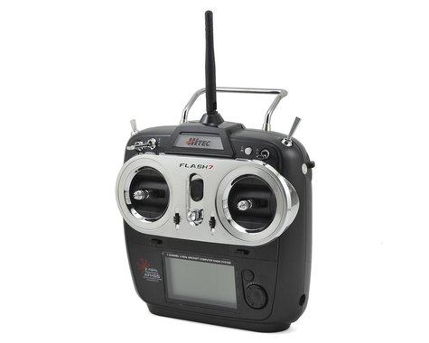Hitec Flash 7 2.4GHZ 7-Channel Aircraft Radio System w/Optima 7 Receiver