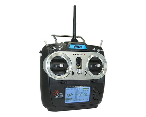 Hitec Flash 7 2.4GHZ 7-Channel Aircraft Radio System