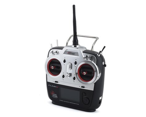 Hitec Flash 8 2.4GHz 8-Channel Aircraft Radio System (Transmitter Only)