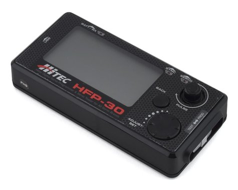 Hitec HFP-30 Hand Held Programmer w/LCD Display
