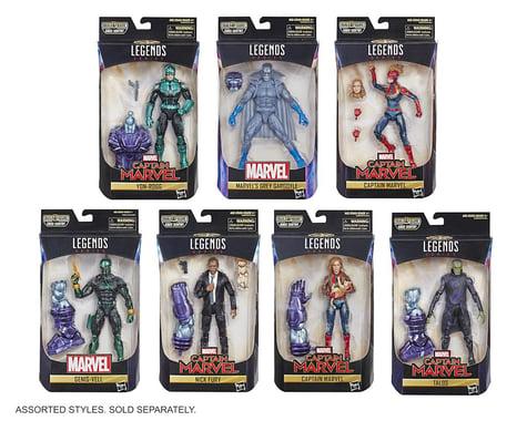 Hasbro Marvel Captain Marvel 6-inch Legends Actin Figure Assortment (1 product)