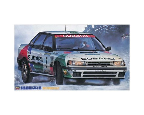 Hasegawa 1/24 Subaru Legacy RS 1992 Swedish Rally