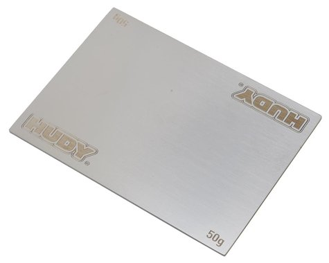 Hudy Stainless Steel Battery Weight (50g)