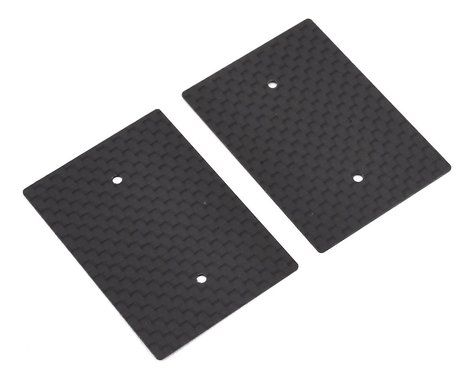 Hudy 0.5mm 1/10 Nitro Graphite Rear Wing Side Plate (2)