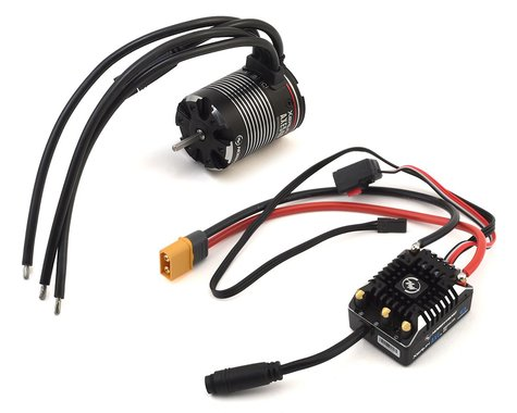 Hobbywing AXE 540 FOC Waterproof V1.1 Sensored Brushless Combo w/2300kV Motor