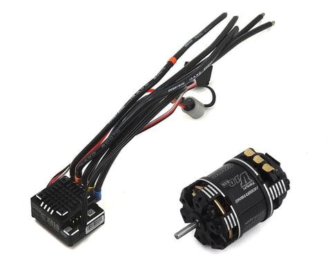 Hobbywing XR10 Pro Stock Spec 2S Sensored Brushless ESC/V10 G3R Combo (17.5T)