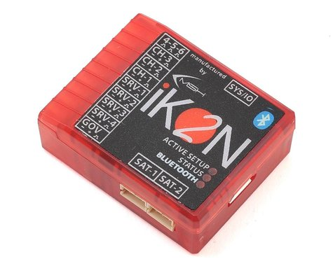 iKon Electronics iKon2 Flybarless System w/Integrated Bluetooth & HD Power Input