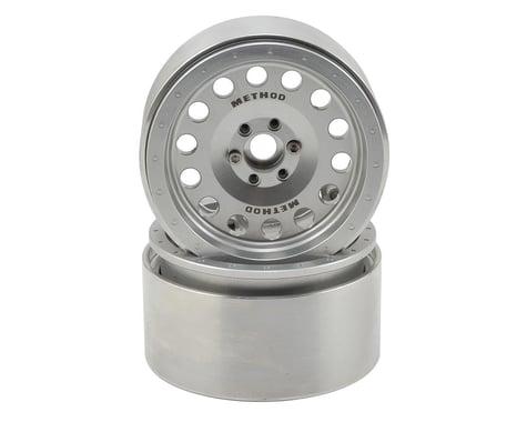 Incision Method MR307 2.2 Aluminum Beadlock Wheels (2) (Clear)