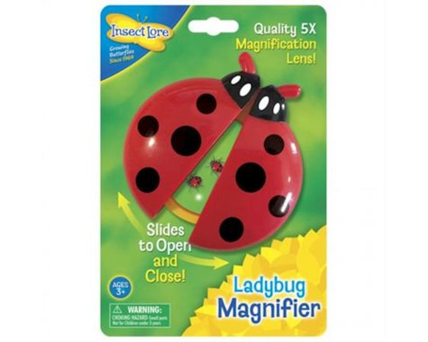 Insect Lore Ladybug 5x Magnifying Glass Kit