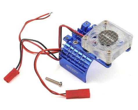 Team Integy 540/550 Motor Heatsink & Cooling Fan (Blue)
