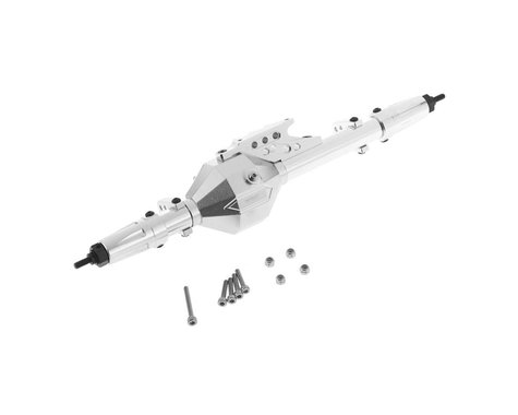 Team Integy T8 Complete Rear Axle Assembly (Silver)