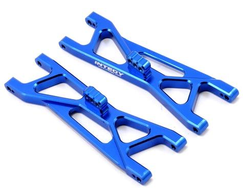 Team Integy Aluminum Front Suspension Arm Set (Blue) (2) (SC10)