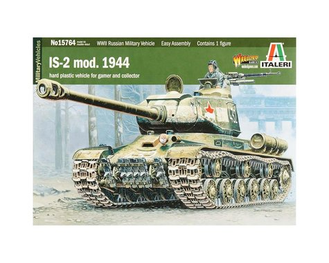 Italeri Models 1/56 Josef Stalin IS-2 Tank - Driver Included