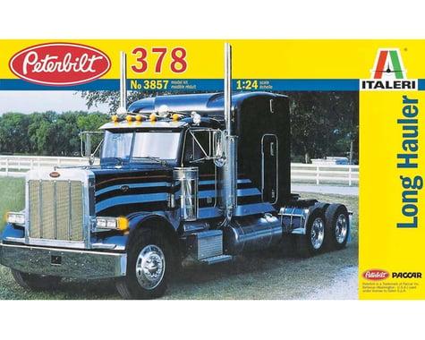 Italeri Models 1/24 Peterbilt 378 Long Hauler