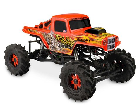 JConcepts Axial SMT10 Bog Hog Mega Monster Truck Body (Clear)