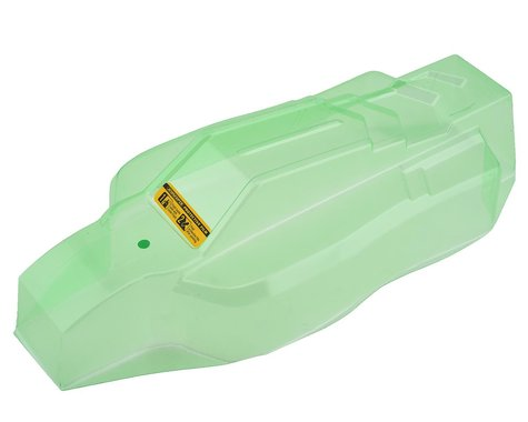 """JConcepts HB D418 """"F2"""" 1/10 Buggy Body w/6.5"""" Aero Wing (Clear) (Light Weight)"""