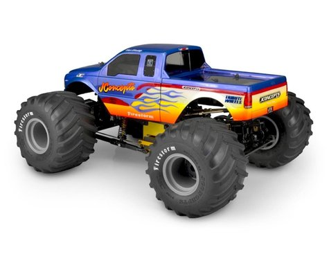 JConcepts 2005 Ford F-250 Super Duty Monster Truck Body (Clear)