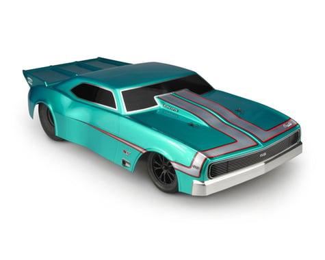 JConcepts 1967 Chevy Camaro Street Eliminator Drag Racing Body (Clear)
