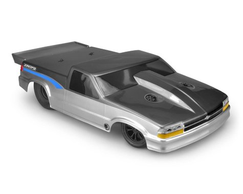 JConcepts 2002 Chevy S10 Drag Truck Street Eliminator Drag Racing Body (Clear)