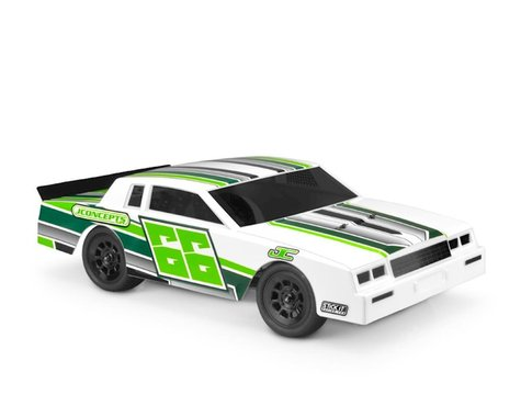 JConcepts 1987 Chevy Monte Carlo Street Stock Dirt Oval Body (Clear)