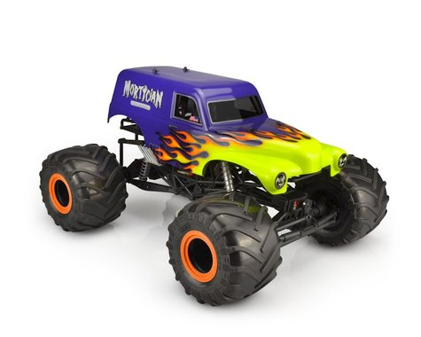 """JConcepts Mortician Monster Truck Body (Clear) (12.5"""")"""