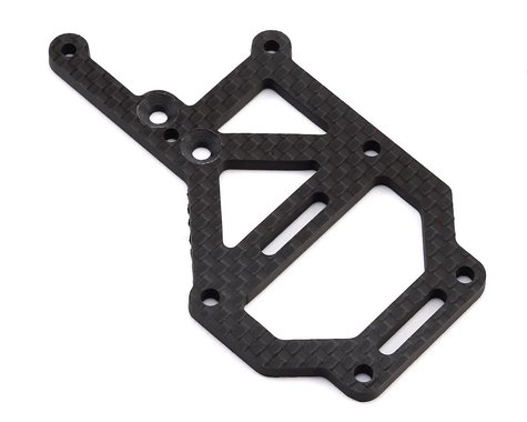 JConcepts Tekno EB410 Carbon Fiber Off-Set Upper Deck Fan Mount