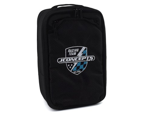 JConcepts Finish Line Charger Bag w/Inner Dividers (400x280x110mm)