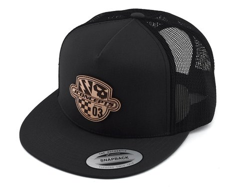 JConcepts Destination Snapback Flatbill Hat (Grey) (One Size Fits Most)