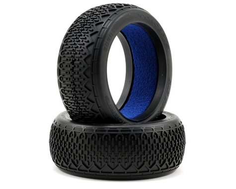 JConcepts Bar Codes 1/8th Buggy Tires w/Profiled Insert (2) (Green)