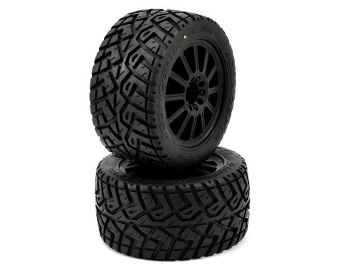 G-LocsTire, Yellow Mnt 2.8 Blk Wheel: ST 4x4