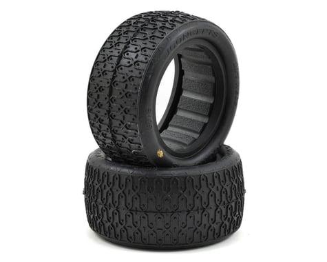 "JConcepts Dirt Webs 2.2"" Rear Buggy Tires w/Dirt Tech Inserts (2) (Gold)"