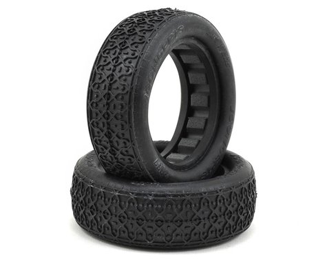 """JConcepts Dirt Webs 2.2"""" 1/10 2WD Front Buggy Tires w/Dirt Tech Inserts (2) (Gold)"""
