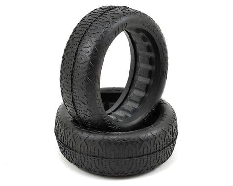 JConcepts Bar Flys 60mm 2WD Front Buggy Tires (2) (Gold)