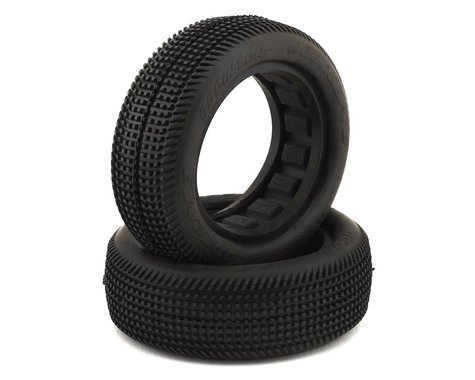 "JConcepts Sprinter 2.2"" 2WD Front Buggy Dirt Oval Tires (2) (Green)"