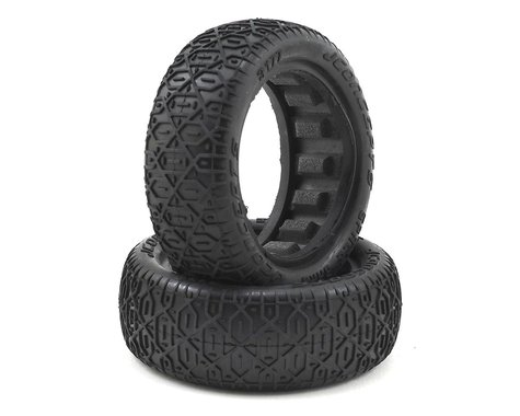 """JConcepts Space Bars 2.2"""" 2WD Front Buggy Tire (2) (Gold)"""