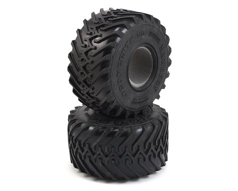 "JConcepts Rangers 2.2"" Monster Truck Tires (2) (Gold)"