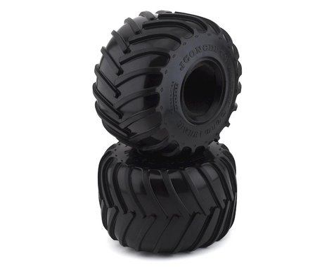 "JConcepts Golden Years 2.6"" Monster Truck Tires (2) (Blue)"