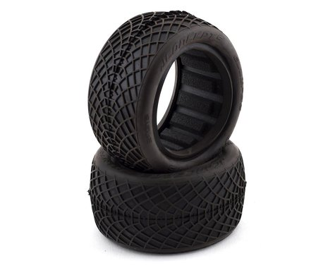 "JConcepts Ellipse 2.2"" Rear 1/10 Buggy Tires (2) (Green)"